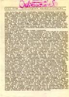 CWiskoziak. Nasz cel: Samorządna Rzeczpospolita. Dnia 19 X 1984 roku - brak autora
