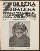 """Z Blizka i z Daleka : ilustrowane pismo dla młodzieży z dodatkiem dla dzieci pt. """"W Słońcu"""". R. 1, 1913 nr 10 (13 XII)"""