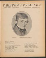 Z Blizka i z Daleka. R. 2, 1914 nr 5 (31 I)
