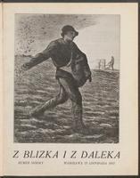 """Z Blizka i z Daleka : ilustrowane pismo dla młodzieży z dodatkiem dla dzieci pt. """"W Słońcu"""". R. 1, 1913 nr 7 (22 XI)"""