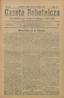 Gazeta Robotnicza, 1905, R. 15, nr 50