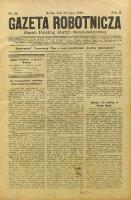 Gazeta Robotnicza, 1900, R. 10, nr 30