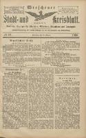 Wreschener Stadt und Kreisblatt: amtlicher Anzeiger für Wreschen, Miloslaw, Strzalkowo und Umgegend 1906.02.22 Nr22