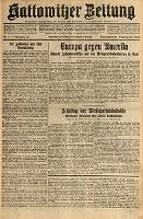 Kattowitzer Zeitung, 1931, Jg. 63, nr72
