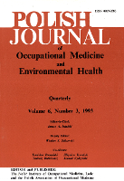 Occupational medicine in Polish journals of 1992. Part 3
