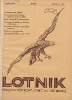 Lotnik: ilustrowany miesięcznik poświęcony lotnictwu i jego technice: organ Wielkopolskiego Klubu Lotników 1931.02 R.8 Nr2(131)