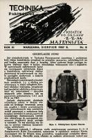 """Technika Parowozowa : dodatek do organu Z.Z.M. """"Maszynista"""". 1937, nr8"""