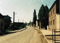 Głubczyce. Widok na ulicę Grunwaldzką. Lata 70. XX w.