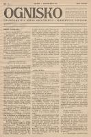 Ognisko : czasopismo dla spraw drukarskich i pokrewnych zawodów. R. 28. 1928, nr 12