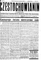 Częstochowianin, 1929, R. 3, nr 39