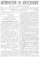 Informator Urzędowy Powiatu Gnieźnieńskiego 1934.10.10 R.83 Nr69