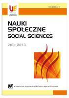 Motywowanie pracowników jako istotny element zarządzania organizacją. Nauki Społeczne = Social Sciences, 2013, Nr 2 (8), s. 156-182 - Mazur, Marta