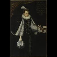 Portret Anny z Kettlerów Radziwiłłowej (1567-1617) - nieznany malarz polski