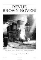Revue Brown Boveri a. XXIX no 6 (1942)