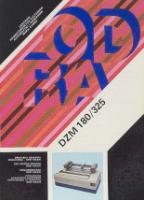 Drukarka znakowa mozaikowa - DZM 180/325 - MERA ELWRO Centrum Komputerowych Systemów Automatyki i Pomiarów