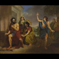 Gniew Saula na Dawida - Brodowski, Antoni (1784-1832)
