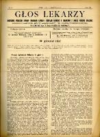 Głos Lekarzy 1910 R.8 nr 8