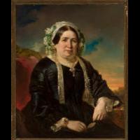 Portret kobiety w czepku - Krüger, Franz (1797-1857)