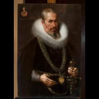 Portret mężczyzny w kryzie - Hofmann, Samuel (1595-1649)