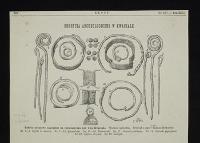 Biżuteria z wykopaliska archeologicznego