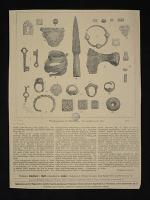 Biżuteria i groty strzał z wykopaliska archeologicznego pod Lidą
