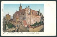 Die Marienburg W. Pr. : Nordwest-Hochschloss.
