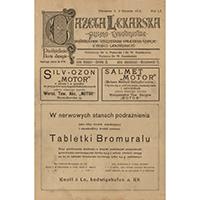 Gazeta Lekarska. 1918, R. 52, T. 3, nr 27