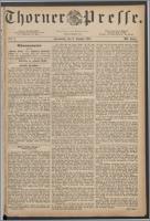 Thorner Presse 1885, Jg. III, Nro. 2