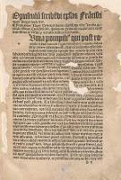 Fra[n]cisci nigri doctoris et Oratoris spectatissimi Compe[n]diosa Ars de Epistolis artifitiose exarandis. - Negri, Francesco (ca 1450-1510)
