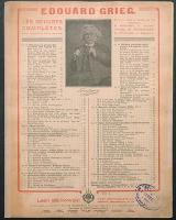 Hochzeitstag auf Troldhaugen = Pryllupsdag pa Troldhaugen : Opus 65 No. 6 - Grieg, Edvard Hagerup (1843-1907)
