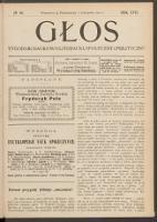 Głos : tygodnik naukowo-literacki, społeczny i polityczny. R. 17, 1902 nr 44 (19 X [1 XI])