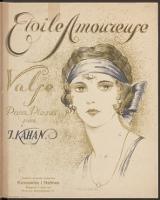 Etoile amoureuse : valse : pour piano : [op. 16] - Kagan, Jakub (1896-ca 1942)