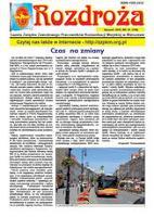 Rozdroża : Gazeta Związku Zawodowego Pracowników Komunikacji Miejskiej w Warszawie. 2015 nr 1 (styczeń)