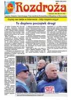 Rozdroża : Gazeta Związku Zawodowego Pracowników Komunikacji Miejskiej w Warszawie. 2015 nr 4 (kwiecień)