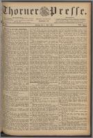 Thorner Presse 1889, Jg. VI