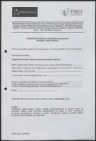 Prośba o nadesłanie pakietu promocyjnego do Gimnazjum nr 20 im. Księcia Józefa Poniatowskiego w Krakowie, osobą zamawiającą jest Łukasz Kamieński [nazwa red.] - Kamieński, Łukasz