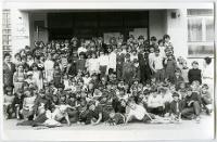 Kolonie dla dzieci ze Szkoły Podstawowej zorganizowane przez salezjanów - nieznany