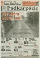 Nowe Podkarpacie : tygodnik regionalny. - R. 36, nr 45 (8 list. 2006) = 1875