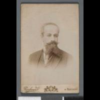 Portret G. Kempnera [Gabriel Kempner (1855-1916), prawnik, literat, krytyk, publicysta, tłumacz ?] (popiersie) - Rembrandt (Warszawa ; zakład fotograficzny ; ca 1888-ca 1935)