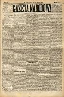 Gazeta Narodowa. 1886, nr17