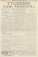 Tygodnik Ziemi Sanockiej. 1911, nr41