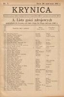 Krynica. 1901, nr7