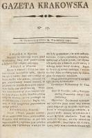 Gazeta Krakowska. 1797, nr77
