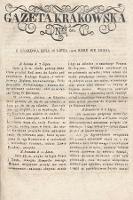 Gazeta Krakowska. 1820 , nr60