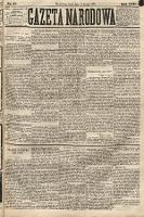 Gazeta Narodowa. 1883, nr41