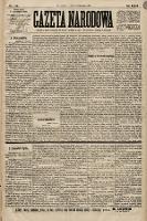 Gazeta Narodowa. 1899, nr310