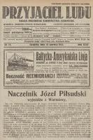 Przyjaciel Ludu : organ Polskiego Stronnictwa Ludowego. 1923, nr25