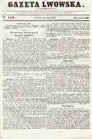 Gazeta Lwowska. 1851, nr112