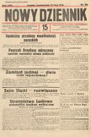 Nowy Dziennik. 1935, nr192