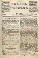 Gazeta Lwowska. 1846, nr109